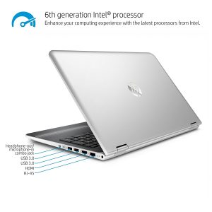 HP x360 Flagship High Performance 2-in-1 Convertible Laptop PC 15.6 FHD