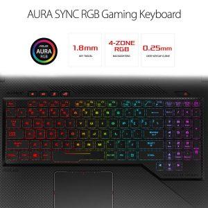 ASUS ROG Strix Scar Edition GL703GE Laptop Keyboard