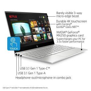 """HP ENVY 13-aq0044nr 13"""" Thin Laptop"""