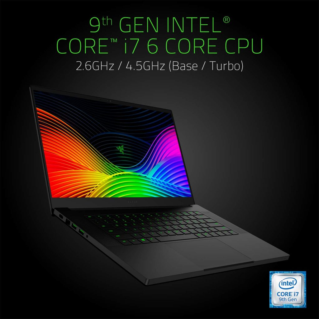 Razer Blade 15.6″ 2019 Model Gaming Laptop With RTX 2060