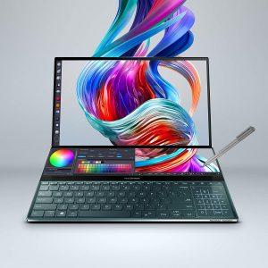 """Asus ZenBook Pro Duo UX581 15.6"""" 4K UHD NanoEdge Bezel"""