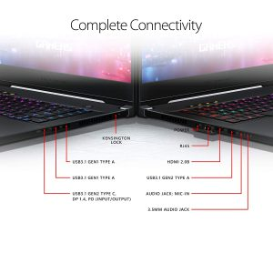 ROG Zephyrus M Gaming Laptop Connectivity