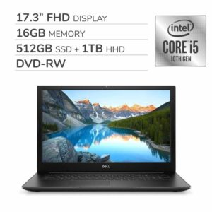 "Dell Inspiron 17 3793 2019 Premium 17.3"" FHD Laptop"