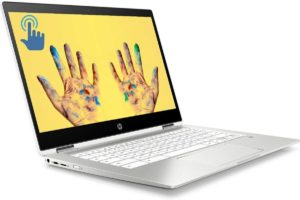 HP X360 Chromebook 2-in-1 Laptop, 14 Full HD