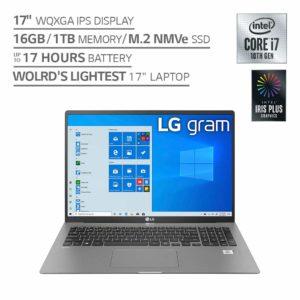 LG Gram Laptop 17Z90N (2020) 17-inch IPS WQXGA