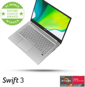 Acer Swift 3 14-inch Thin & Light Laptop, SF314-42-R9YN