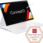 ConceptD 7 Ezel CC715-71-72JD Convertible Creator Laptop