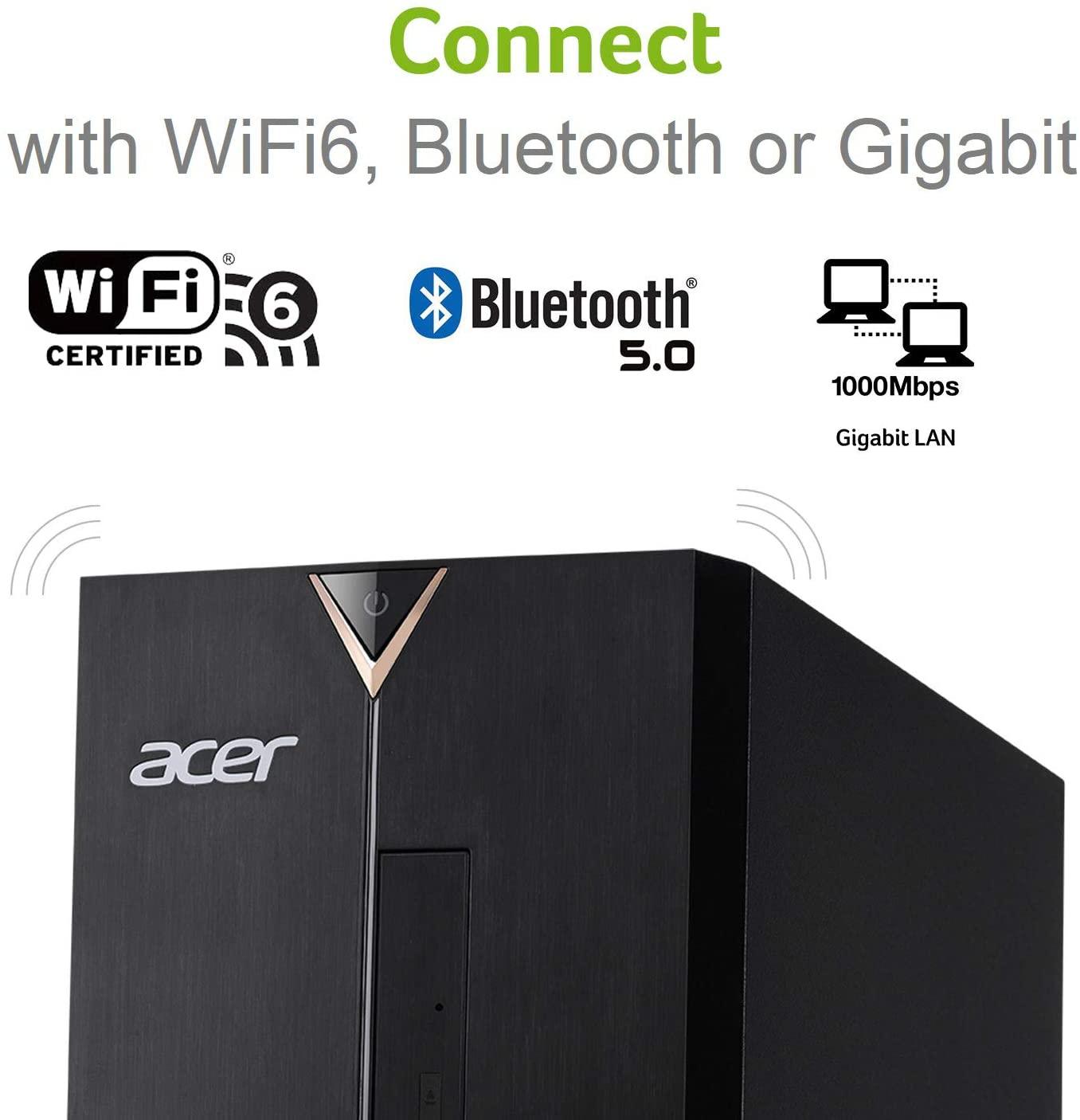 Acer Aspire TC-895-UA92 Desktop, i5-10400