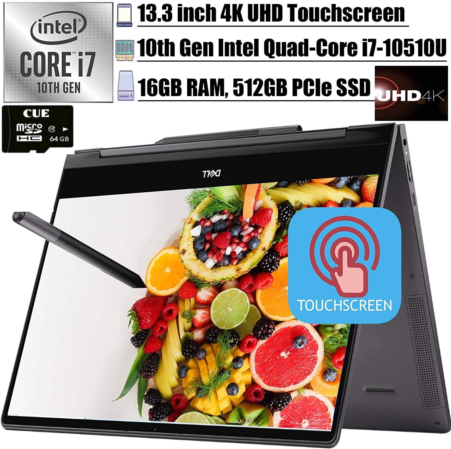 2020 Latest Dell Inspiron 13 7000 2-in-1 Laptop
