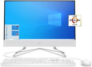 HP 22 All-in-One PC, AMD Athlon Gold 3150U